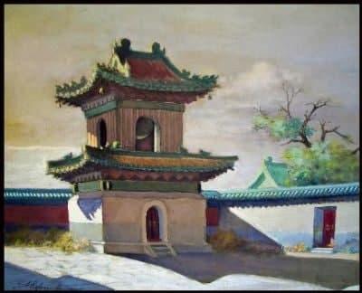 Серия работ «Храмы и дворцы старого Пекина»